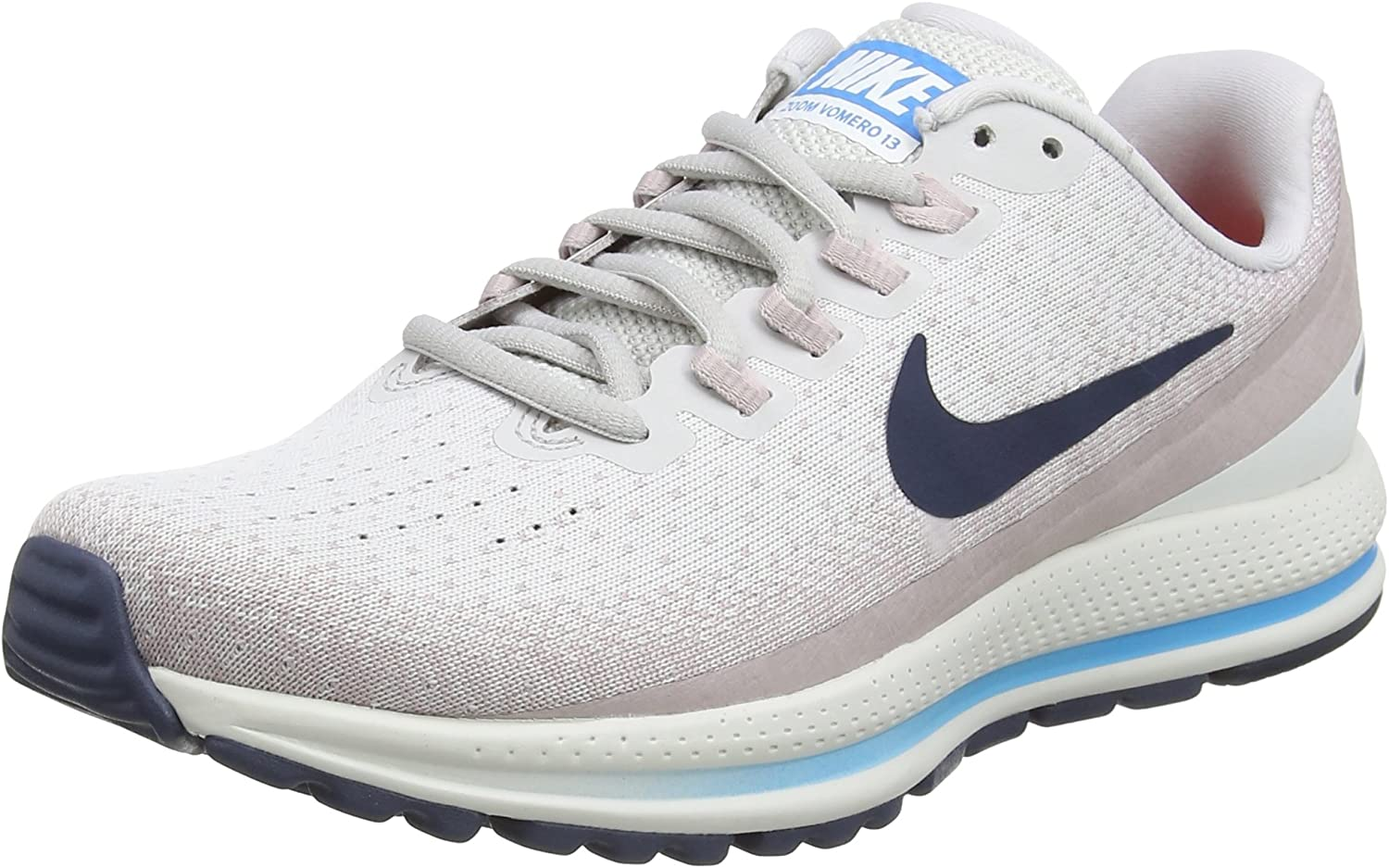 Nike Wmns Air Zoom Vomero 13, Zapatillas de Running para Mujer, Gris (Vast Grey/Thunder Blue-Particle Rose 006), 40.5 EU: Amazon.es: Ropa y accesorios