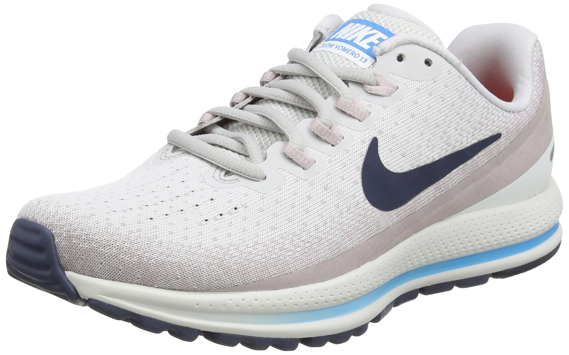 eceb088d0b62b Galleon - NIKE Women s Zoom Vomero 13 Running Shoes (Vast Grey Thunder  Blue