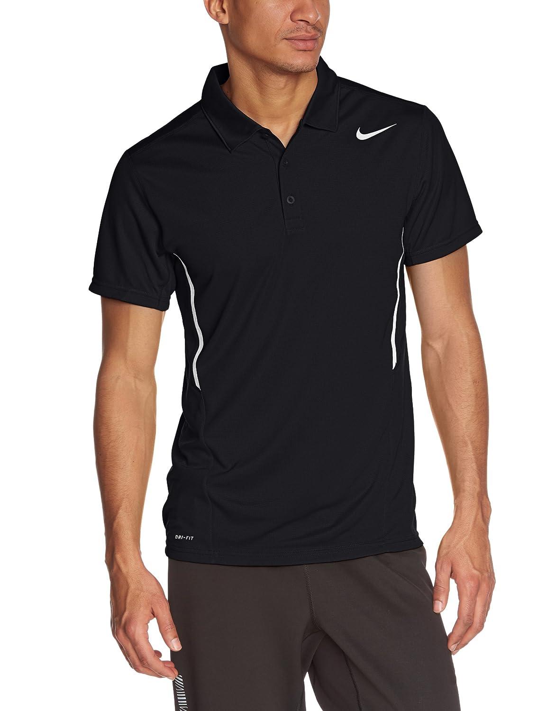 Nike Polo - Camiseta de Power UV, color negro y blanco, tamaño 4XL ...
