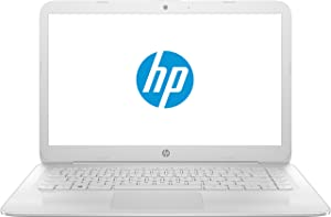 HP Stream Notebook (Snow White) - 14-AX027CL - Intel Celeron, 4GB RAM, 32GB SSD (Renewed)