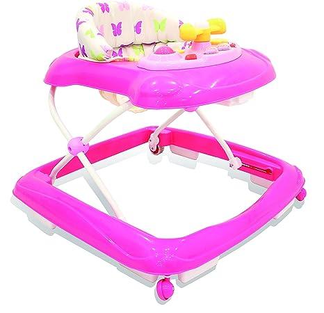 Asalvo 13095 - Andador, diseño mariposas, color rosa: Amazon.es: Bebé