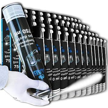 AAB Cooling Compressed Gas Duster 750ml - Conjunto de 12 - Spray ...