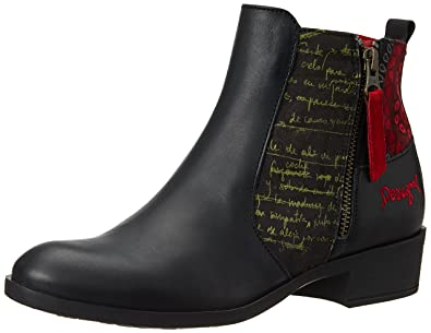 Desigual Shoes Natalia 18, Women's Ankle Boots, Red (3093 Ketchup), 5