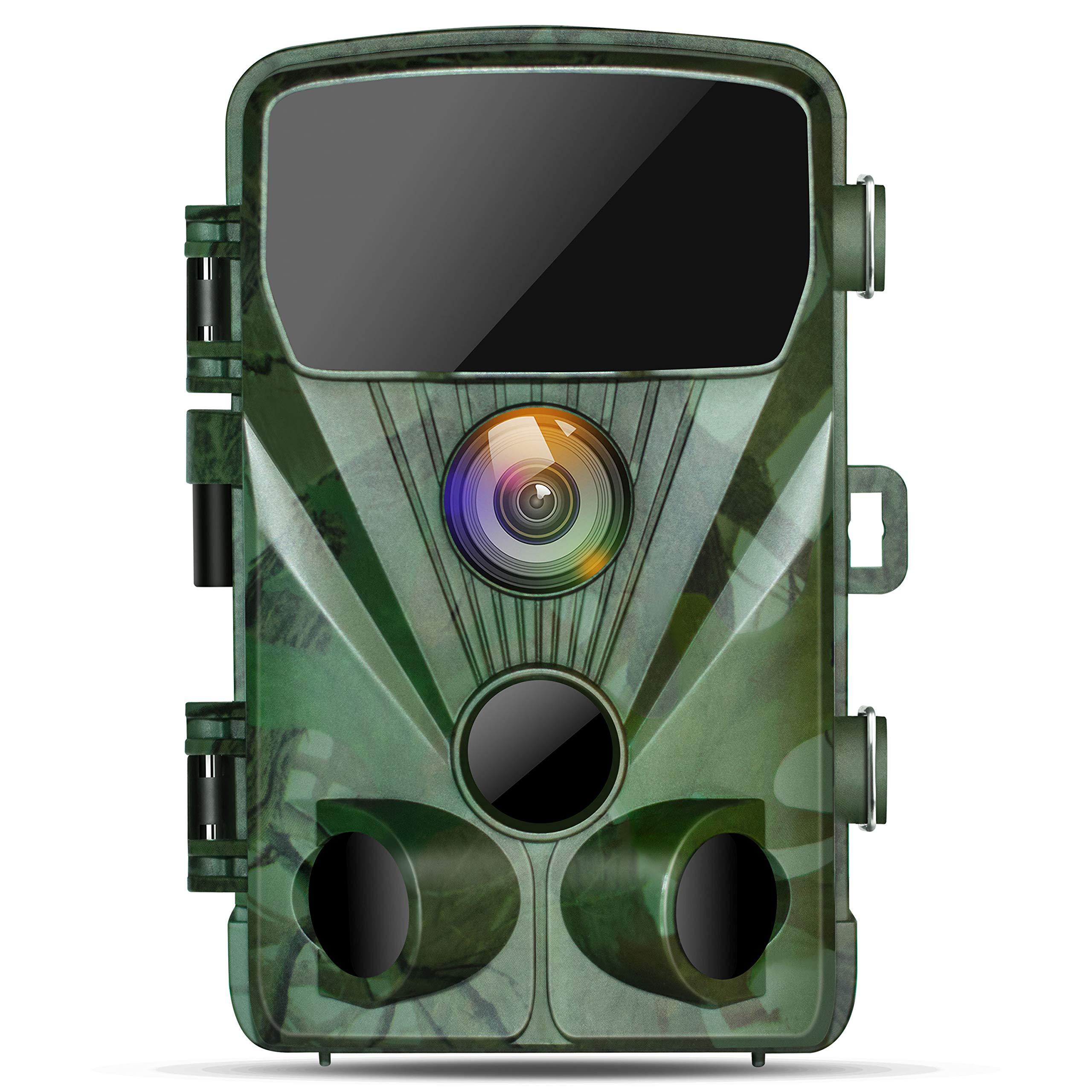 TOGUARD Caméra de Chasse 20MP 1080P Caméra de Surveillance Étanche,Caméra de Faune avec Détecteur de Mouvement à Vision Nocturne Infrarouge, Caméra de Jeu Grand Angle 130° product image
