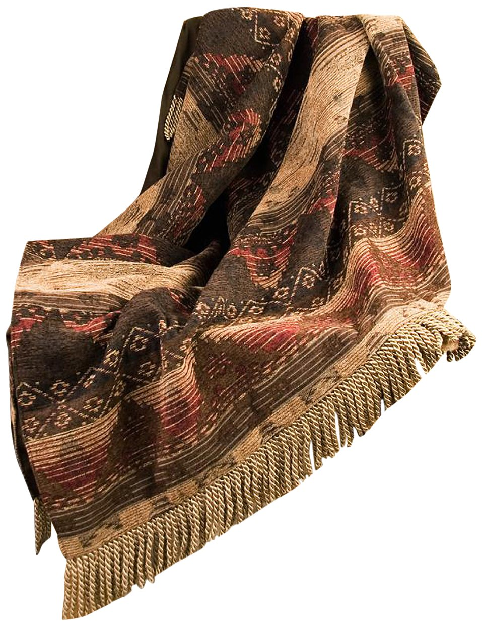 HiEnd Accents Sierra Lodge Throw HomeMax Imports LG1830TH