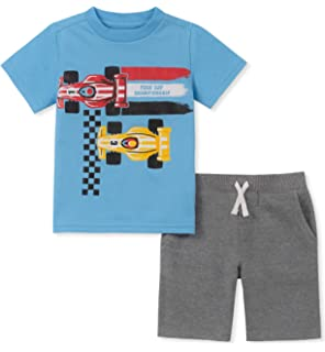 Little Boys Graphic-Print T-Shirt and Shorts Set 4T//4 Kids Headquarters 2-pc