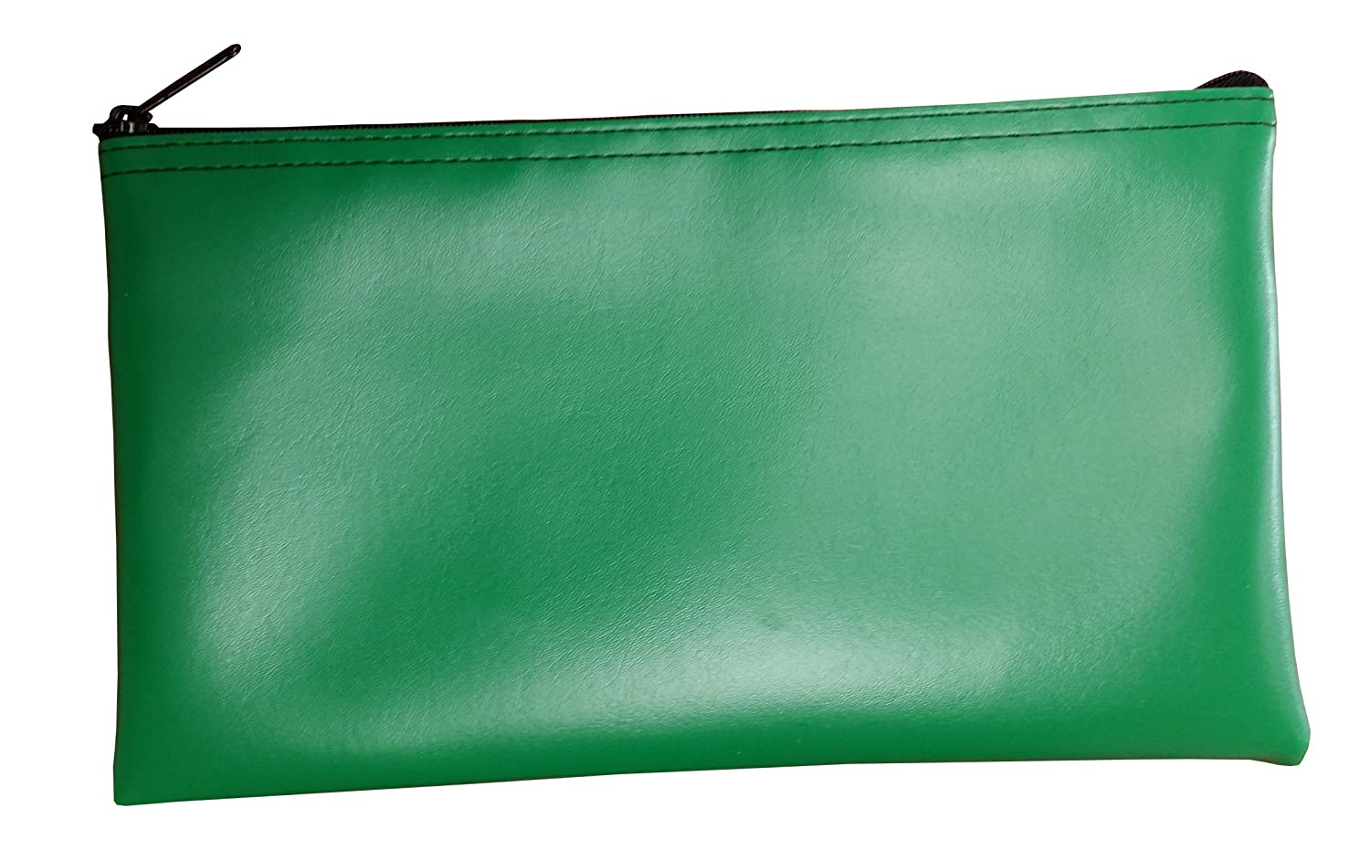 Zipper Bag Leatherette, Check Wallet 11 x 6 Inch (Black) Cardinal Bag Supplies 76161020
