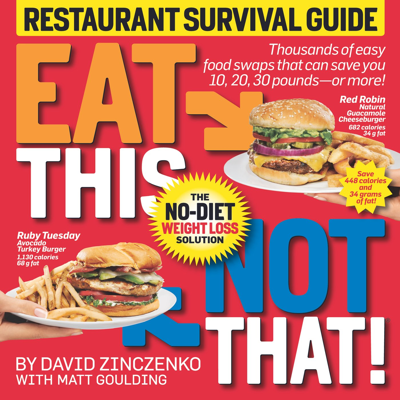 Eat This Not That Restaurant Survival Guide The No Diet Weight