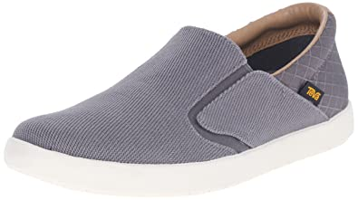 Teva Men's Sterling Slip-On Shoe, Grey, ...