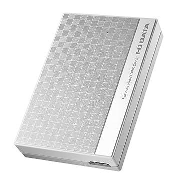 I-O DATA HDD ポータブルハードディスク 2TB USB3.0バスパワー対応 日本製 EC-PHU3W2D