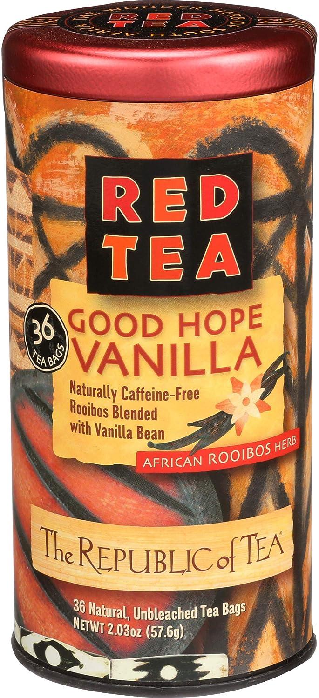 The Republic of Tea, Good Hope Vanilla Red Tea, No Caffeine, 36 Tea Bags