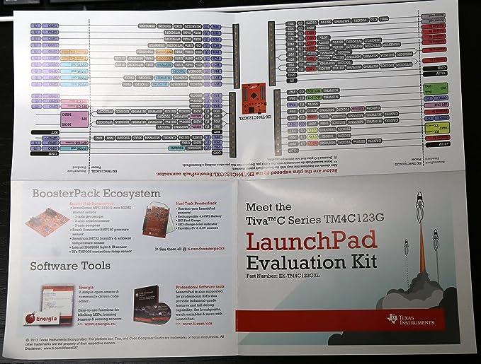 TEXAS INSTRUMENTS EK-TM4C123GXL EVAL BOARD, TM4C123G, TIVA C LAUNCHPAD by  Texas Instruments