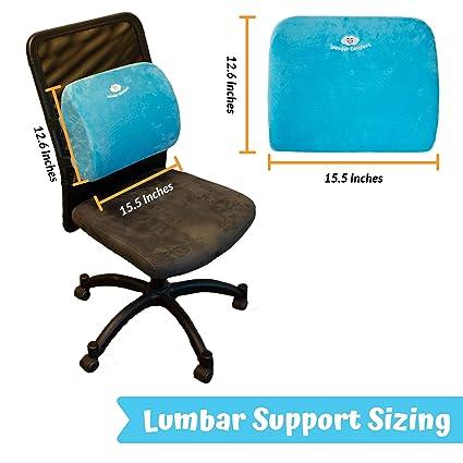 Amazon.com: Wonder Comfort Lumbar Support for Office Chair ...