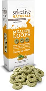 Supreme Petfoods Selective Naturals Meadow Loops For Rabbits 2.8Oz (Pack Of Four)