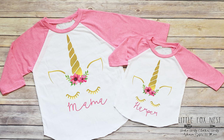 Unicorn Shirt, Unicorn Birthday, Mommy and Me Shirts, Mothers Day Gift