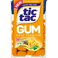 12-Pack Tic Tac Sugar Free Chewing Gum (Cool Tropical)