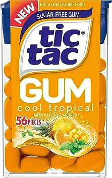 12-Pack Tic Tac Sugar Free Chewing Gum (Cool Tropical)