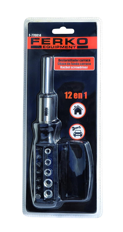 Ferko Safety Equipment F-770014 Destornillador Bola multipuntas 12 ...