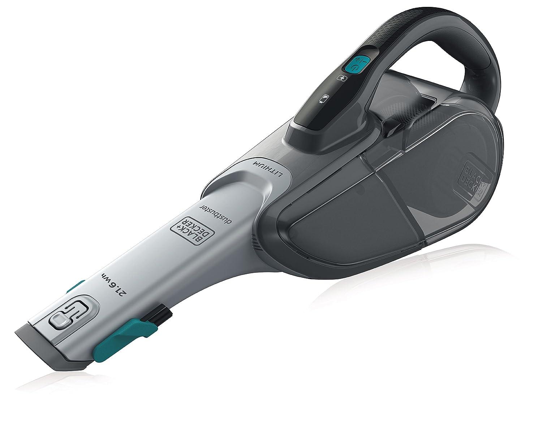 Base de charge 2 Ah Autonomie : 10 ou 15 min Charge : 5h BLACK+DECKER DVJ320B-QW Aspirateur /à main sans fil 10,8 V Prolongateur int/égr/é et brosse retractable Capacit/é du bol : 500 ml