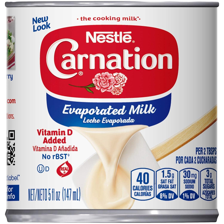 Nestle Carnation, Evaporated Milk, 5 oz (Pack of 1)