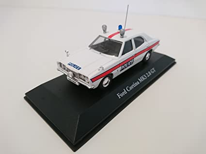 Atlas Ford Cortina MKII UK Police Car Corgi 1//43 R/éf U08
