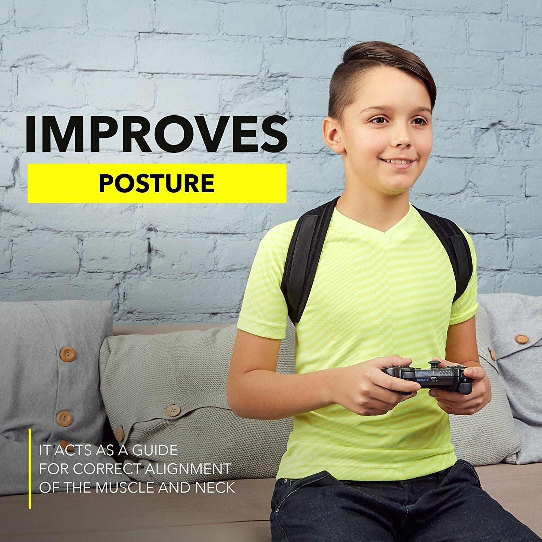 Posture Brace Effective Comfortable Adjustable Posture Correct Brace Kyphosis Brace New 2019 Posture Support FDA Approved Back Brace ORISOIL Posture Corrector for Women Men