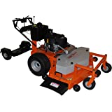 "Turf Beast 54FB 54"" .22 HP Subaru Commercial Duty Dual Hydro Walk Behind Finish Cut Turf Mower with Floating Deck"