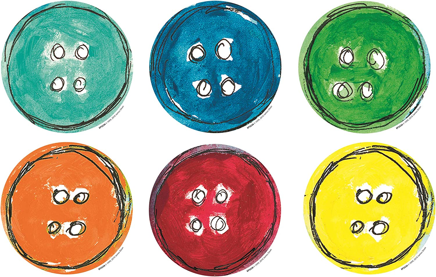 Edupress Pete The Cat Groovy Buttons Accents (EP63236)