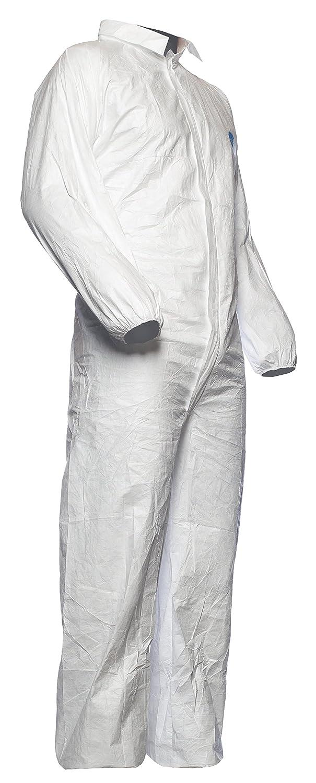 Cat/égorie III DuPont Tyvek 500 Industry Type 5 et 6 Blanc V/êtement de Protection Chimique Taille L