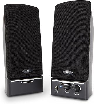 Cyber Acoustics CA-2014 multimedia desktop computer speakers FAST FREE SHIPPING