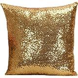 Multi-size Glitter Sequin Cushion Cover LivebyCare Satin Sparkling Throw Pillow Case Sham Pattern Zipper Pillowslip Pillowcase For Decor Decorative Home Sofa Bedroom