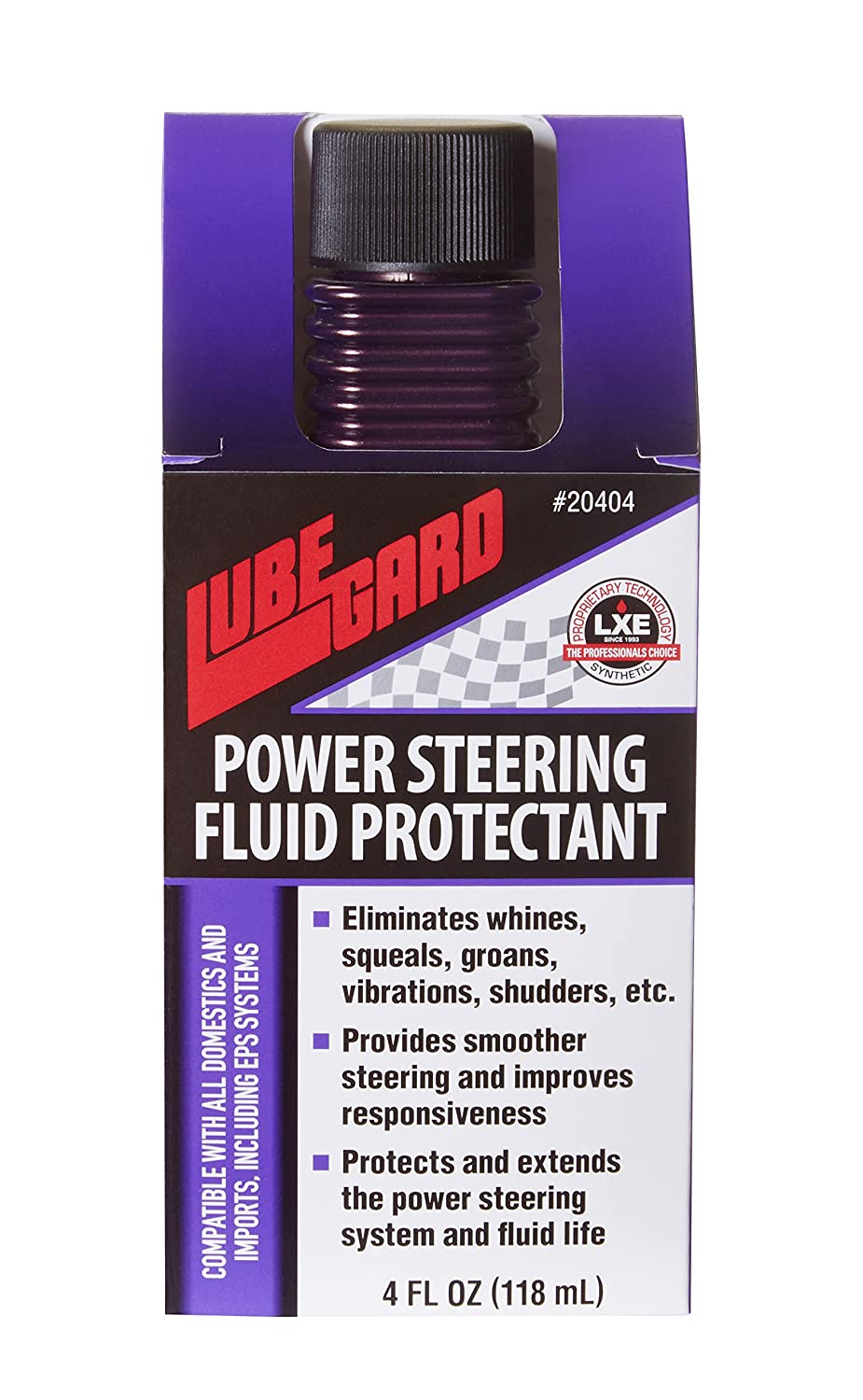 Lubegard 20404 Universal Power Steering Fluid Protectant, 4 oz.