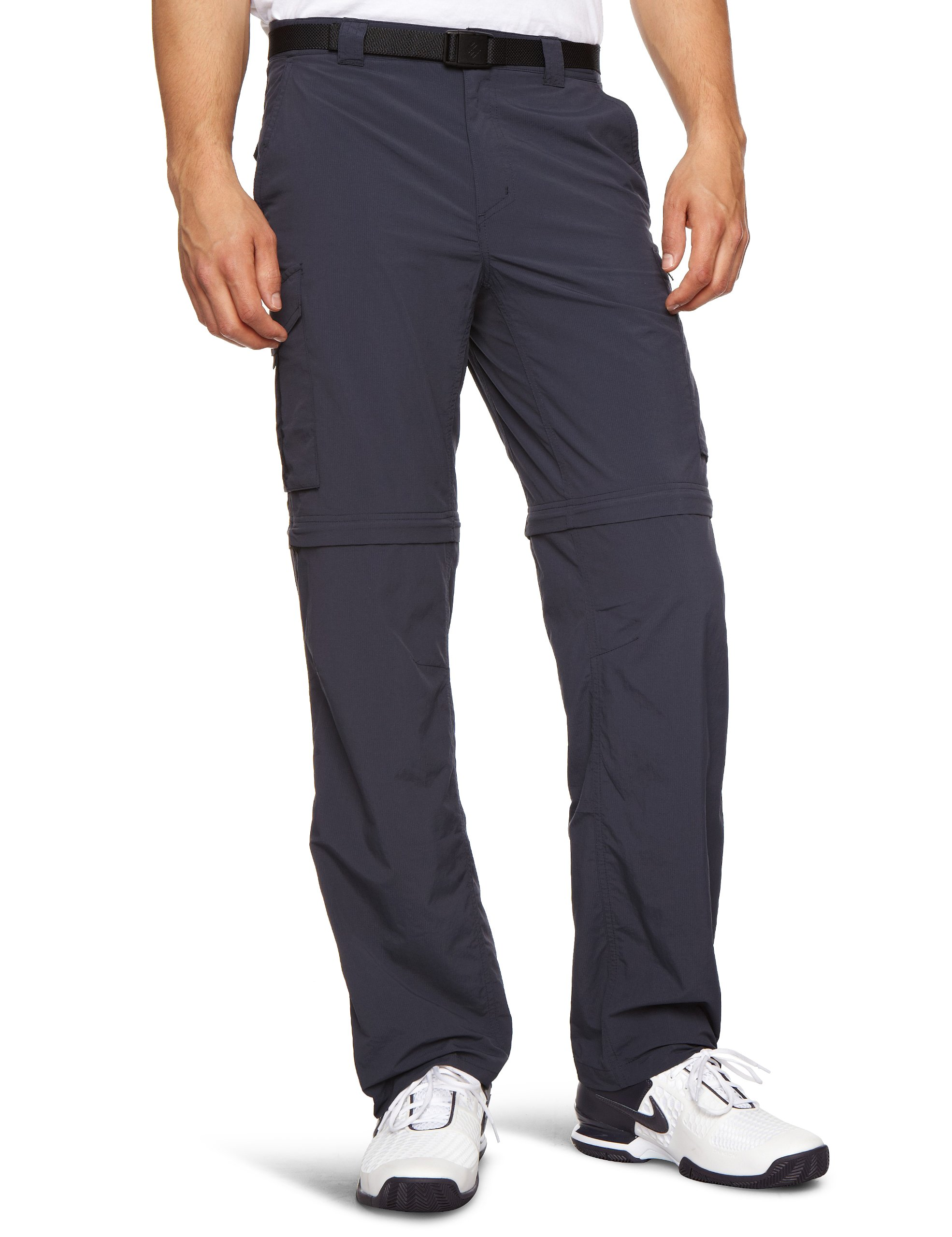 Columbia Men's Silver Ridge Convertible Pant, 32x32-Inch, Abyss