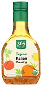 365 by Whole Foods Market, Organic Salad Dressing, Italian, 16 Fl Oz