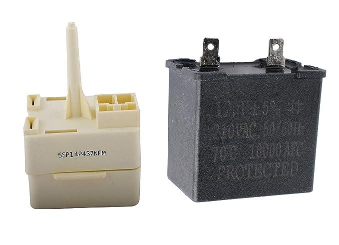 Ketofa 2169373 Condensador con 2188830 Compresor de Relé de ...