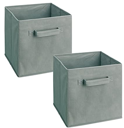 ClosetMaid 18657 Cubeicals Fabric Drawer Gray 2-Pack  sc 1 st  Amazon.com & Amazon.com: ClosetMaid 18657 Cubeicals Fabric Drawer Gray 2-Pack ...