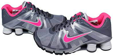 buy popular 06ec6 c70a9 Image Unavailable. Image not available for. Color  Womens Nike Shox  Roadster+ Running Shoes Stealth ...