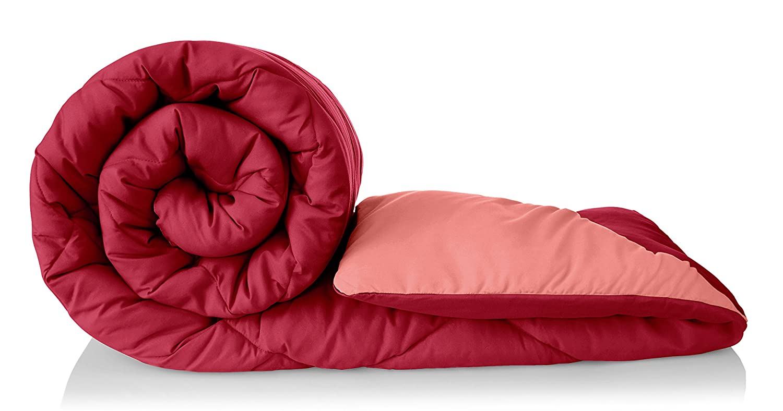 Amazon Brand - Solimo Microfibre Reversible Comforter