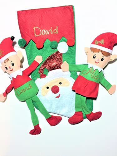 elf christmas decoration elf on the shelf custom gift personalized plush toy