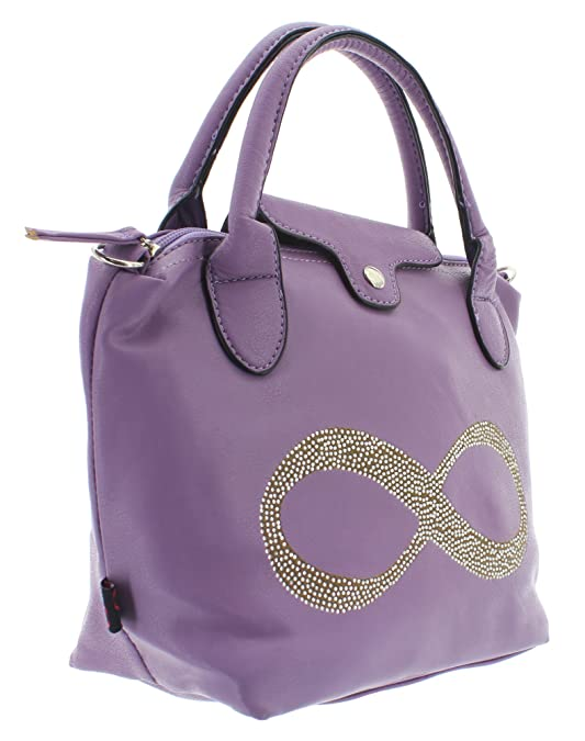 Henkeltasche INFINITY HANDBAG Violett one size New Rebels
