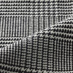 Tagliatore Thomas Glen Plaid: Black / White