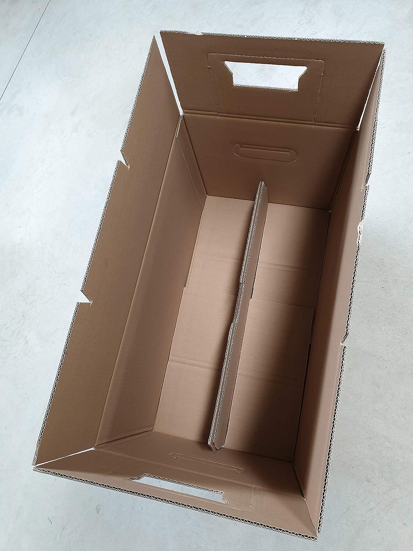 10 Umzugskartons Umzug Karton 2-wellig 2.40 EB 45kg 600 x 340 x 320 mm Profi Umzugskisten Movebox B/ücherkarton