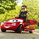 Huffy Pixar Cars 3 Lightning McQueen 6V Battery-Powered Ride On