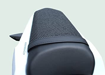 Kawasaki Z650 (2017-2018) Cubierta TRIBOSEAT para Asiento Antideslizante Accesorio Personalizado Negro