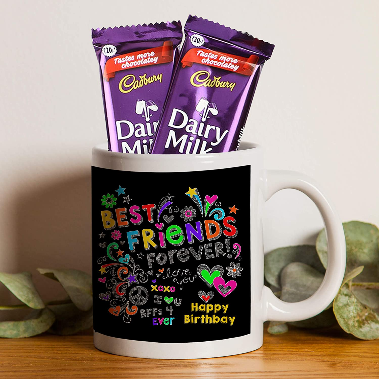 Tied Ribbons Happy Birthday Gift For Friend Boys Girls Dairy Milk Chocolates And Printed Coffee Mug Amazon In Grocery Gourmet Foods