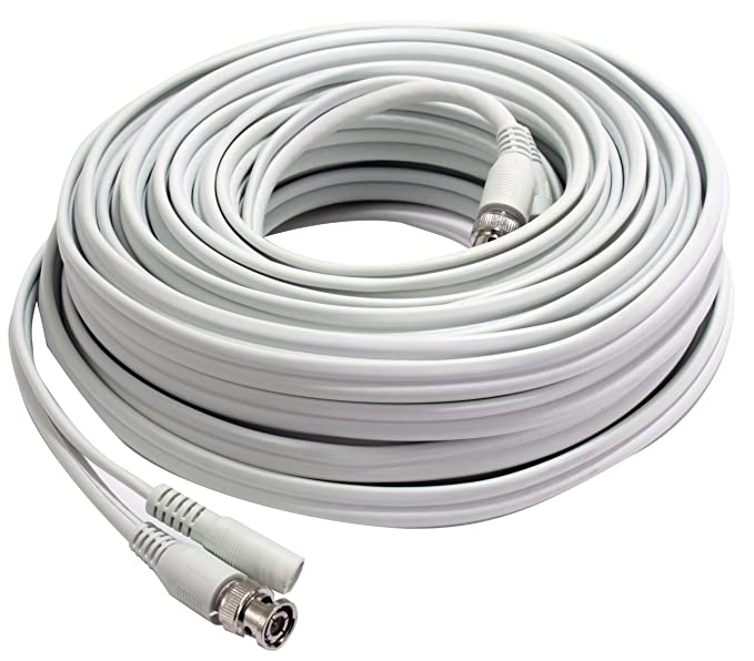 Frist alerta bnc-50 RG59 Coaxial Video y Cable de alimentación de CC, 50-Feet: Amazon.es: Bricolaje y herramientas
