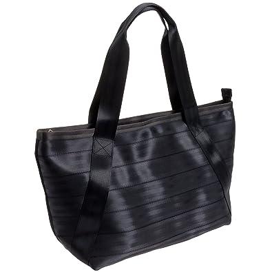 4a6983795b58 Harveys Women s Large Boat Seatbelt Tote Bag (Black)  Amazon.co.uk ...