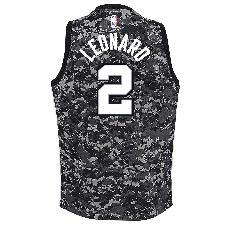 74764bc5515 Amazon.com   Outerstuff Kawhi Leonard San Antonio Spurs NBA Nike Youth  Black City Edition Swingman Jersey   Sports   Outdoors