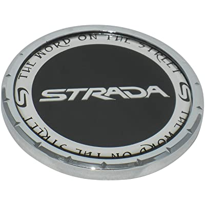 Strada Wheels Rim Center Cap 81192085F-1 PD-Cap-Strada C-225-1: Automotive