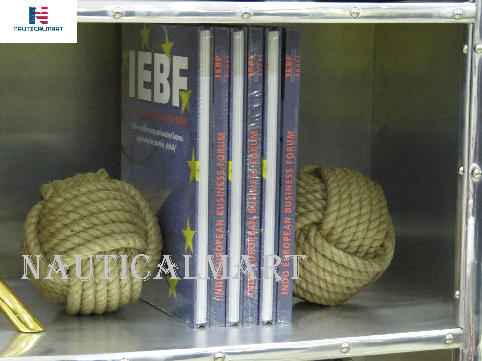 NAUTICALMART Nautical Bookends - Rope Bookends